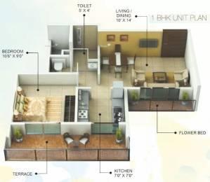 685 sqft, 1 bhk Apartment in GHP Sonnet Kharghar, Mumbai at Rs. 60.0000 Lacs