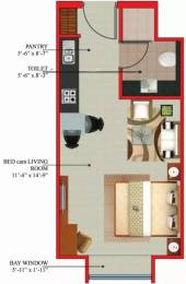 425 sqft, 1 bhk Apartment in MMR The Orabella Sector 52, Noida at Rs. 12.0000 Lacs