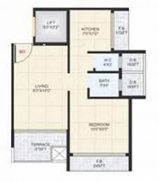 630 sqft, 1 bhk Apartment in Vasani Heritage Taloja, Mumbai at Rs. 27.0000 Lacs