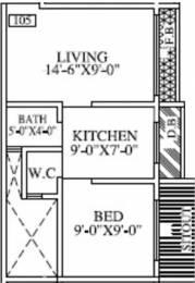 630 sqft, 1 bhk Apartment in Sankalp Heights Nala Sopara, Mumbai at Rs. 24.0000 Lacs