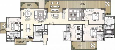 4500 sqft, 4 bhk Apartment in Puri Diplomatic Greens Sector 110A, Gurgaon at Rs. 30000