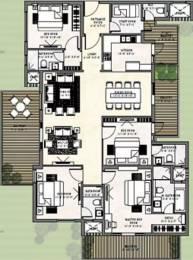 2950 sqft, 4 bhk Apartment in Puri Diplomatic Greens Sector 110A, Gurgaon at Rs. 30000
