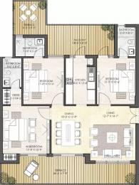 1810 sqft, 3 bhk Apartment in Puri Diplomatic Greens Sector 110A, Gurgaon at Rs. 32000