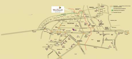 2088 sqft, Plot in Experion The Westerlies Plots Sector 108, Gurgaon at Rs. 95.1200 Lacs