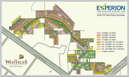 2259 sqft, Plot in Experion The Westerlies Plots Sector 108, Gurgaon at Rs. 1.1295 Cr