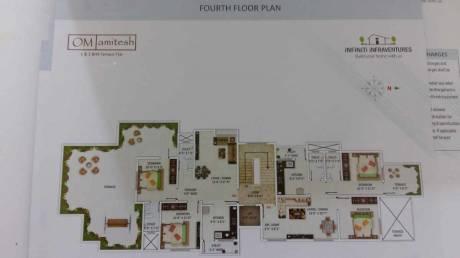 1050 sqft, 2 bhk Apartment in Infiniti Om Amitesh Apartment Godhni, Nagpur at Rs. 23.0000 Lacs
