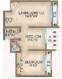 565 sqft, 1 bhk Apartment in Ornate Galaxy Naigaon East, Mumbai at Rs. 27.0000 Lacs
