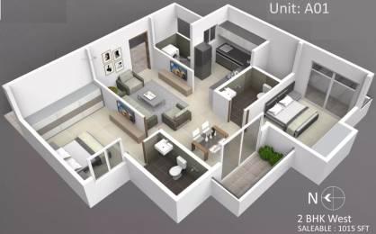 1015 sqft, 2 bhk Apartment in Subha Essence Chandapura, Bangalore at Rs. 25.8825 Lacs