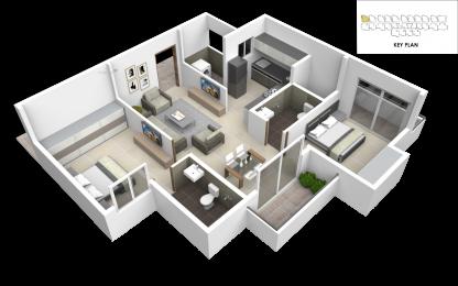 975 sqft, 2 bhk Apartment in Subha Essence Chandapura, Bangalore at Rs. 31.7800 Lacs