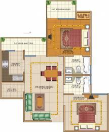 1000 sqft, 2 bhk Apartment in SVP Gulmohar Garden Phase 2 Raj Nagar Extension, Ghaziabad at Rs. 27.0000 Lacs