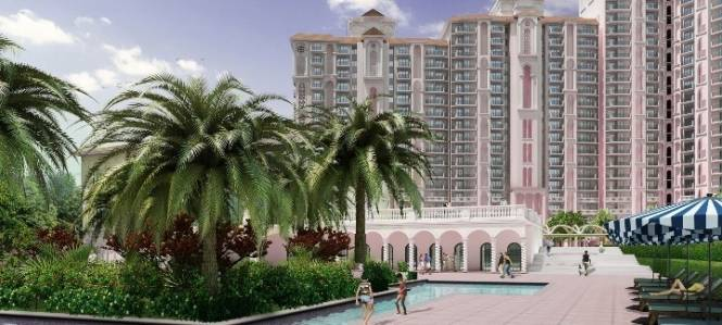1461 sqft, 2 bhk Apartment in DLF Regal Gardens Sector 90, Gurgaon at Rs. 80.3331 Lacs