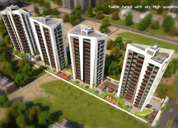 2250 sqft, 3 bhk Apartment in Happy Home Elanza Sagrampura, Surat at Rs. 1.0800 Cr