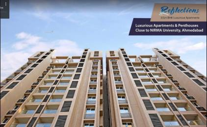 1905 sqft, 3 bhk Apartment in Pacifica Reflections Near Nirma University On SG Highway, Ahmedabad at Rs. 72.2533 Lacs