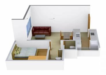 600 sqft, 1 bhk Apartment in Godrej Vrindavan Near Nirma University On SG Highway, Ahmedabad at Rs. 8000