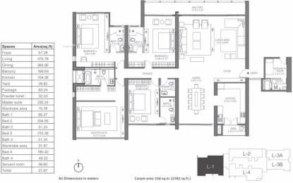 4203 sqft, 4 bhk Apartment in TATA 88 East Alipore, Kolkata at Rs. 5.8400 Cr