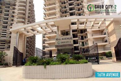 1600 sqft, 3 bhk Apartment in Builder Gaur City 2 16th Avenue Gaur City Noida Extension Greater noida, Noida at Rs. 9000