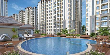 1360 sqft, 2 bhk Apartment in Builder Barsana Greens Ajwa Road, Vadodara at Rs. 31.0850 Lacs