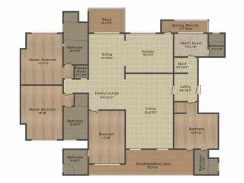 3800 sqft, 4 bhk Apartment in Panchshil One North Hadapsar, Pune at Rs. 0.0100 Cr