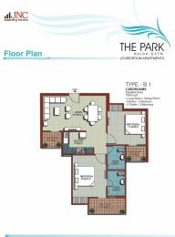 1030 sqft, 2 bhk Apartment in JNC The Park Sector 16C Noida Extension, Greater Noida at Rs. 33.9900 Lacs