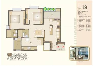 1215 sqft, 2 bhk Apartment in Venus Parkland Juhapura, Ahmedabad at Rs. 14000