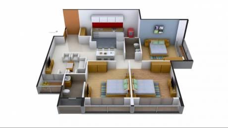 1500 sqft, 3 bhk Apartment in A Shridhar Kaveri Sangam Shilaj, Ahmedabad at Rs. 17000