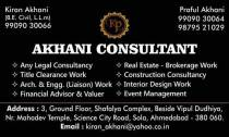 Akhani consultant