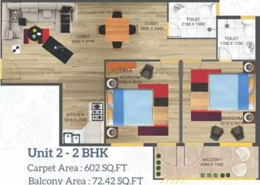 876 sqft, 2 bhk Apartment in Arete Our Homes 3 Sector 6 Sohna, Gurgaon at Rs. 23.8110 Lacs