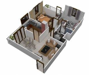 1000 sqft, 2 bhk BuilderFloor in Builder Project Scheme 94, Indore at Rs. 22.6300 Lacs