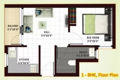 395 sqft, 1 bhk Apartment in Annai Anandita Arakkonam, Chennai at Rs. 9.0000 Lacs