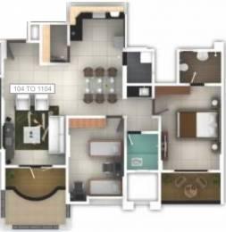 1187 sqft, 2 bhk Apartment in Pethkar Samrajya Kothrud, Pune at Rs. 1.1500 Cr