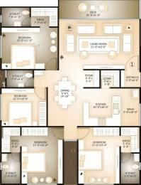 2878 sqft, 4 bhk Apartment in Happy Home Elanza Sagrampura, Surat at Rs. 30000
