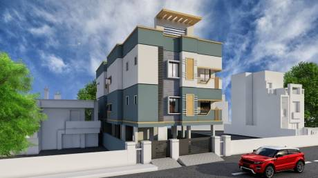 780 sqft, 2 bhk Apartment in Builder Project Korattur, Chennai at Rs. 56.0000 Lacs