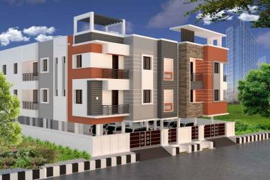1052 sqft, 3 bhk Apartment in Builder Project Korattur, Chennai at Rs. 65.0000 Lacs