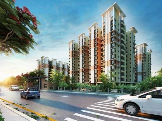 1378 sqft, 3 bhk Apartment in Shrachi Greenwood Nest New Town, Kolkata at Rs. 69.3660 Lacs