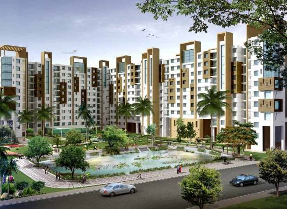 1845 sqft, 4 bhk Apartment in Ideal Ideal Regency Joka, Kolkata at Rs. 80.0000 Lacs