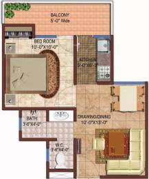 590 sqft, 1 bhk Apartment in Rise Organic Ghar Lal Kuan, Ghaziabad at Rs. 16.9035 Lacs