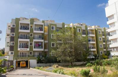 1000 sqft, 2 bhk Apartment in Builder Project Thanisandra, Bangalore at Rs. 21000
