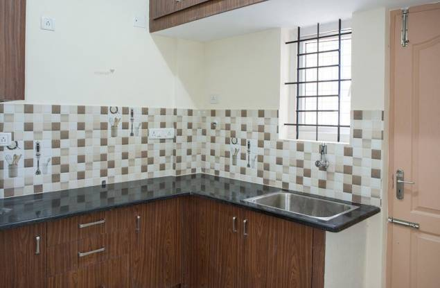 1200 sqft, 2 bhk Apartment in Builder Project Vakil Marina Layout, Bangalore at Rs. 16800