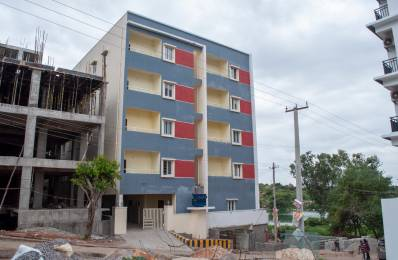1400 sqft, 2 bhk Apartment in Builder Project Padma Sri Gardens Layout, Hyderabad at Rs. 22000