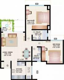 925 sqft, 2 bhk Apartment in Bramha Skycity Dhanori, Pune at Rs. 14000