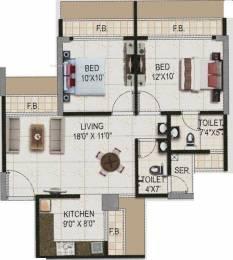 1140 sqft, 2 bhk Apartment in Dudhe Vitevari Panvel, Mumbai at Rs. 59.2800 Lacs