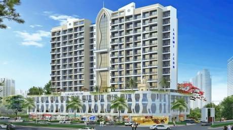 1225 sqft, 2 bhk Apartment in Laxmi Laxmi Icon Seawoods, Mumbai at Rs. 1.6500 Cr
