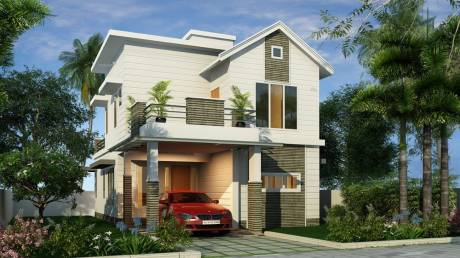 1726 sqft, 3 bhk Villa in Tulsi Blu Rain Aluva, Kochi at Rs. 1.2945 Cr