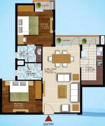 1082 sqft, 2 bhk Apartment in Ansal Olympus Lake View Gomti Nagar, Lucknow at Rs. 35.0000 Lacs