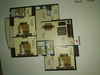 1675 sqft, 3 bhk Apartment in Pushpanjali Seasons Dayal Bagh, Agra at Rs. 50.0000 Lacs
