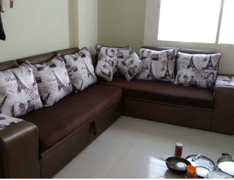 750 sqft, 1 bhk Apartment in Galaxy One Kharadi, Pune at Rs. 19000