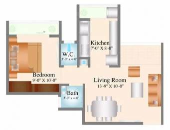 515 sqft, 1 bhk Apartment in Navkar City Phase 1 Naigaon East, Mumbai at Rs. 21.6300 Lacs