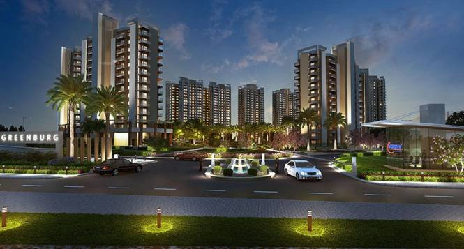 1895 sqft, 3 bhk Apartment in Microtek Greenburg Sector 86, Gurgaon at Rs. 1.2900 Cr