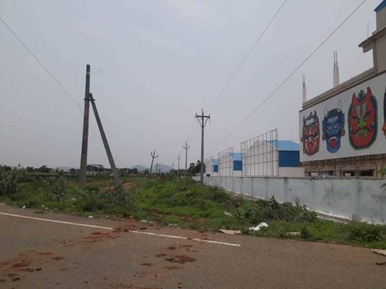 1800 sqft, Plot in Bhoomatha Emerald City Bhogapuram, Visakhapatnam at Rs. 14.0000 Lacs