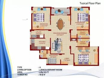 1785 sqft, 3 bhk Apartment in DN Northern Heights Patia, Bhubaneswar at Rs. 66.0000 Lacs
